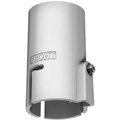 "Network Camera Pipe Adapter, 4.02"" Height x 2.68"" Width x 2.36"" Diameter, Die-Cast Aluminum, Titanium White"
