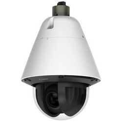 Network Camera, PTZ, Vandalproof, Day/Night, Outdoor, H.264/JPEG, 1.3 Megapixel Resolution, F1.4 to 4.6 Auto-Focus 4.4 to 132 MM Lens, 360 Degree Pan, PoE+