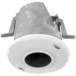 "Network Camera Recessed Mount, Indoor, Drop Ceiling Installation, M20 x 1/2"" Metal Back Box Conduit Hole, 5.35"" Diameter x 5.33"" Height, With Cover Lid/Spacer"