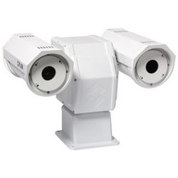 Thermal Imaging Security Camera, PTZ, NTSC, H.264/MJPEG/MPEG4, 2x/4x Zoom, 320 x 240 Resolution, 9 MM Focal Length Lens, 30 Volt AC/DC, 7.5 Hz
