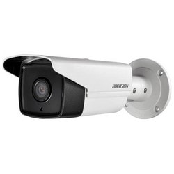 Network Camera, Bullet, IR, HD, DWDR, 3D DNR, Outdoor, Day/Night, H.264/MJPEG, 5 Megapixel Resolution, 6 MM Lens, 50 Meter Range, 12 Volt DC, 7.5 Watt, PoE