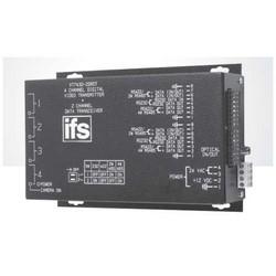 Video Transmitter/Data Transceiver, Single-Mode, Rack Mount, Laser Diode Emitter, 4-Channel, 1-Fiber, 17 dB, 1310/1550 nm, 51 Kilometer