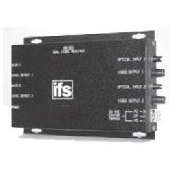 AM Video Receiver, Multimode, Rack Mount, 2-Fiber, 14 dB, 850 nm, 4 Kilometer, 24 Volt AC/12 Volt DC, 300 mA