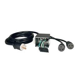 Corded UPS Backplate Outlet Kit for SU6000RT3UHV UPS, 200/208/240V Input/Output, NEMA L6-30R