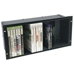 DVD Holder, 5 RU, Anodized