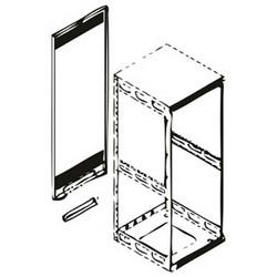 Rear Access Panel, 8 RU Slim 5 Racks