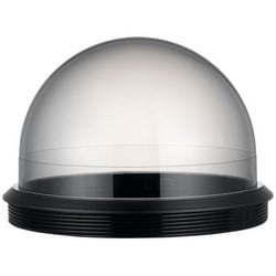 "Smoked Dome Cover, Tinted Bubble, 5.93"" Width x 4.04"" Height, Polycarbonate (Base/Cover Glass), Black Base Top, Transparent Smoked Cover Glass, For SNP/SCP Model"