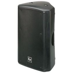 "Loudspeaker System, 2-Way, Powered, 50 to 20000 Hertz, 60 Degree x 60 Degree Coverage, 17.57"" Width x 16.16"" Depth x 27.26"" Height, Black"