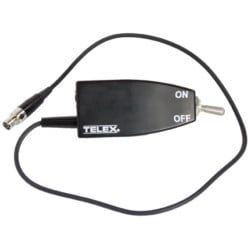 Referee Switch Box for Beltpack Transmitters with a TA4 Mic Connector for use with WT-1000-REF, BPU2PRO-REF, REV-BP-REF, WTU-2 and REV-WT only