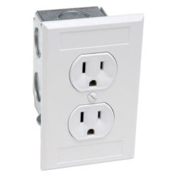 NON-SURGE PROTECTED 110V      OUTLET KIT - IN