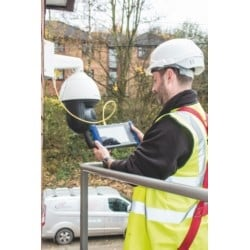 SecuriTEST IP is an installation and troubleshooting tester for digital/IP, HD coax and analogue CCTV camera systems. With a single tester that can power, configure and document, SecuriTEST IP increases productivity from start to finish.