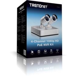4-Channel HD PoE NVR Kit
