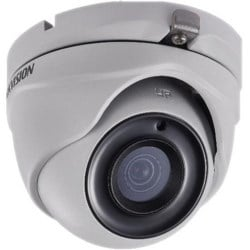 Analog Camera, EXIR Dome, WDR, True Day/Night, Outdoor, Vandalproof, HD-TVI, 2 Megapixel Resolution, 6 MM Fixed Lens, 20 Meter Range, IP66, 12 Volt DC