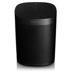 Sonos - One Wireless Speaker with Amazon Alexa Voice Assistant - Black