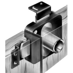 """Door Lock, Type 250, 180 Degree Key Rotation, 3/16"""" Top Cam Setback, 29/32"""" Top Cam Extension, 1/2"""" Cam Throw, Surface Mount, For Locking Two Adjacent Door, 25 each per Case"""