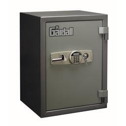 "Data Media Safe, Pushbutton Electronic Lock, 2-Shelf, 23-1/4"" Width x 20"" Depth x 31-1/2"" Height, Gray"