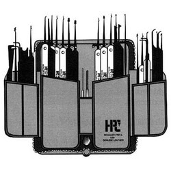 Lock Pick Set, Superior, Includes (22) Pick, (7) Tension Tool, (3) Extractor