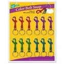 """Bolt Snap, 3-1/8"""" Length, Zinc, Nickel Plated, With 7/8"""" Split Key Ring, 12 each per Card"""