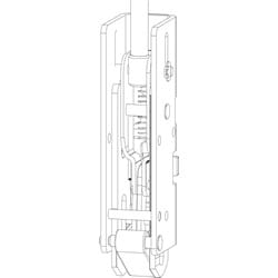 Exit Device Bottom Latch Kit, For 33/3547A/98/9947/94/9547/-F Series Door