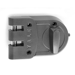 Auxiliary Deadlock, Jimmyproof, 5-Pin, PARA Keyed Random, Cylinder x Thumbturn, For Rim and Cabinet