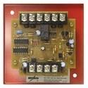 "Strobe Flash Synchronization Module, 24 Volt DC FWR, 34 Milliampere, 12 AWG Terminal, Red Metal Plate, 32 to 120 Deg F, 4"" x 4"" x 1-1/2"" Mounting Back Box"