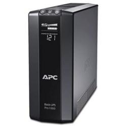 Power Saving Back UPS, 120 Volt AC Input/Output, 50/60 Hertz, 1 KVA, NEMA 5-15P Connection, USB Port, 100 MM Width x 382 MM Depth x 250 MM Height, LCD Status Display, Black