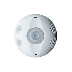 Multi-technology, 360 Degree, Commercial Grade 2000 Square Foot Coverage, Self-adjusting, Ceiling Mount Occupancy Sensor, True White