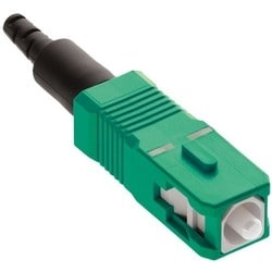 Fastcam Pre-polished Connector. Sc Apc. Os2. Ceramic Ferrule. 250um. 900um Or 2/3mm Fiber Application Fiber Type Identified By Green Housing Color Optional Vfl Testing For Go/no Go Confirmation.