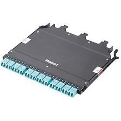 OM4 HD Flex 4-to-1 Conversion Cassette, (3) 8F MPO To (12) Duplex LC, Method A, Ultra IL