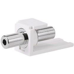 Stereo Coupler, 3.5mm, Off White