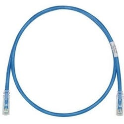 Category 6 Patch Cord, UTP, 28 AWG, CM/LSZH, Blue, 15 Meters