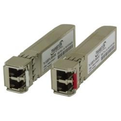 DWDM MSA Compliant Multi-Rate 1G/10Gbase SFP+ Modules. 10Gbase-Er/1000Base-LX, SFP+ With DMI Single Mode (LC) 1547.72nm 193.70Thz [40 Km/24.9 Mi.] Link Budget: 15.0 dB