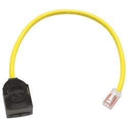 CBL ASSY 110-MOD 24-4PR STR   CAT6 T568B 12FT VISIPATCH     CPC5312-09F012 YELL