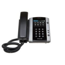 VVX 501 12-line Business Media Phone with HD Voice. Compatible Partner platforms: 20. POE. Ships without power supply.