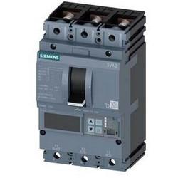 3VA2 Molded Case Circuit Breaker, 3-Poles, 63A, 55kA, IEC Frame 100, System Protection ETU8, LSI, Lug Terminal 2 Aux Switches HQ