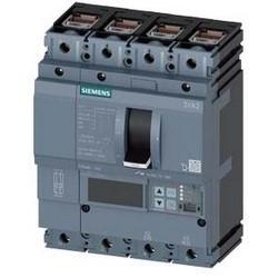 3VA2 Molded Case Circuit Breaker, 4-Poles, 63A, 55kA, IEC Frame 100, System Protection ETU5, LSIG, Terminal Conn