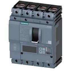 3VA2 Molded Case Circuit Breaker, 4-Poles, 63A, 55kA, IEC Frame 100, System Protection ETU5, LSI, Terminal Conn