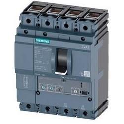 3VA2 Molded Case Circuit Breaker, 4-Poles, 63A, 55kA, IEC Frame 100, System Protection ETU3, LI, Terminal Conn