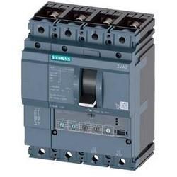 3VA2 Molded Case Circuit Breaker, 4-Poles, 63A, 55kA, IEC Frame 100, System Protection ETU3, LSI, Lug Terminal