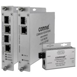 Dual 1000 Mbps Media Converter