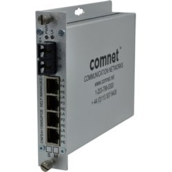 10/100TX 4TX/1FX Ethernet Self-Managed Switch with Power Over Ethernet PoE
