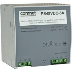 48VDC @ 5 Amp power supply for the CNGE2FE8MSPOE