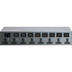 Horizontal  W PDU 12xC13, 4xC19 sockets, 3M Lead, 32A, Commando Plug