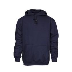 Heavyweight Pullover FR Sweatshirt (2X), FR Modacrylic Blend Fleece, Arc Rating 28 cal, HRC 3