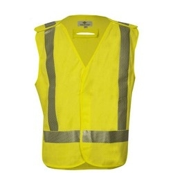 VIZABLE FR Standard Breakaway Vest, ANSI Class 2 (3X), Modacrylic / Para-Aramid Mesh, Arc Rating 4.6 calClass 2