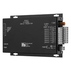 8-Channel Contact Transmitter, MM, 1 Fiber (850 nm), Rack Mount
