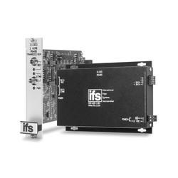 RS485 Data Transceiver, MM, 2 Fibers (850 nm), Rack Mount