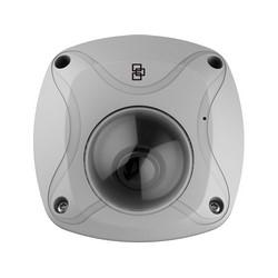 TruVision Panoramic Wi-FI Wedge Camera, 3MPx, 1.6mm Lens, Digital D/N, Audio, Alarm, PoE (802.3-af)/12VDC, IP66, IK8, PAL