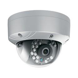 TruVision HD-TVI Analog Dome Camera, 1080p, 2.8mm Lens, True D/N, WDR, 20m IR, 960H Monitor & HD-TVI Dual-output, Coax OSD Control, 12VDC, IP66, Plastic, NTSC