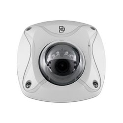 Network Camera, Wedge, IR, WDR, Day/Night, H.264/MJPEG, 1920 x 1080 Resolution, F2.0 Fixed 2.8 MM Lens, 128 GB, 12 Volt DC, 5 Watt, PoE, White